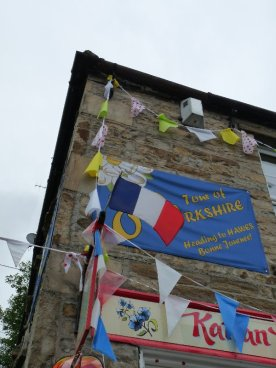A friendly French welcome at Hawes.